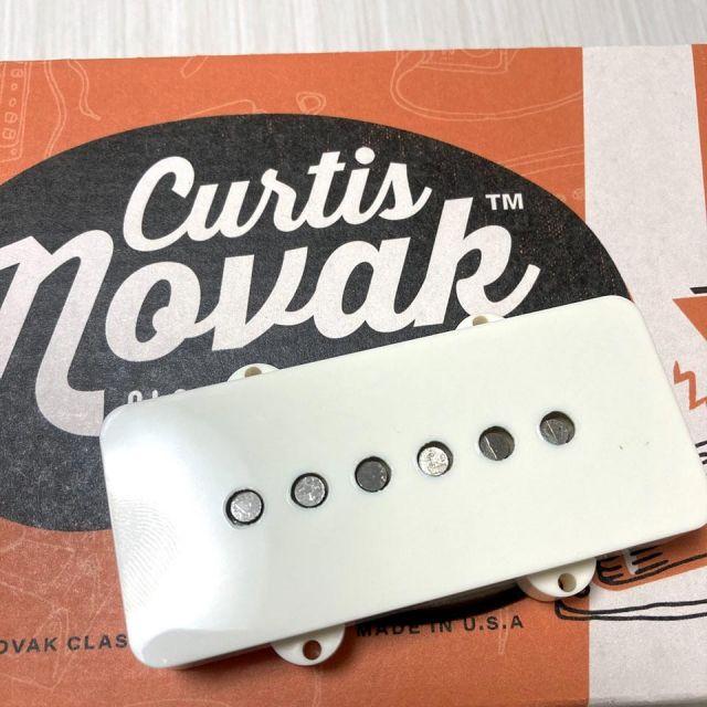 Curtis Novak Pickups/JM-V Bridge / Parchment Cover【ジャズマスター】【在庫あり】【2106E2】