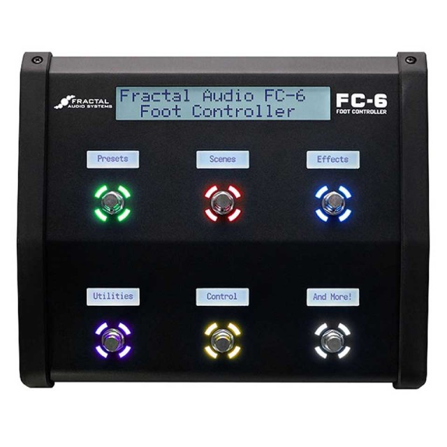 FRACTAL AUDIO SYSTEMS/FC-6 Foot Controller【在庫あり】