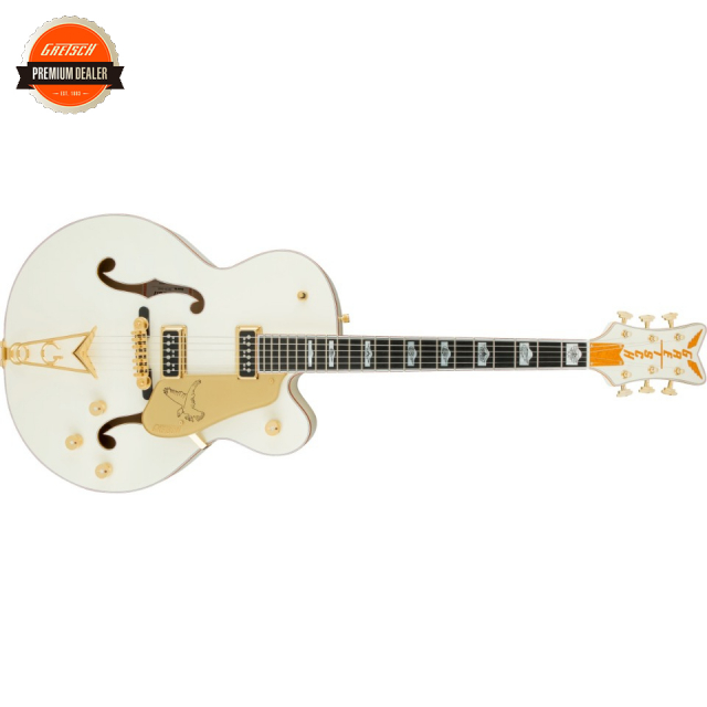 Gretsch/G6136-55 Vintage Select Edition '55 Falcon Hollow Body with Cadillac Tailpiece White Lacquer【お取寄商品】【グレッチ】