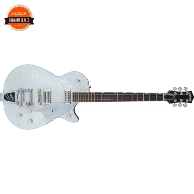Gretsch/G6129T Players Edition Jet FT with Bigsby Silver Sparkle【受注生産】