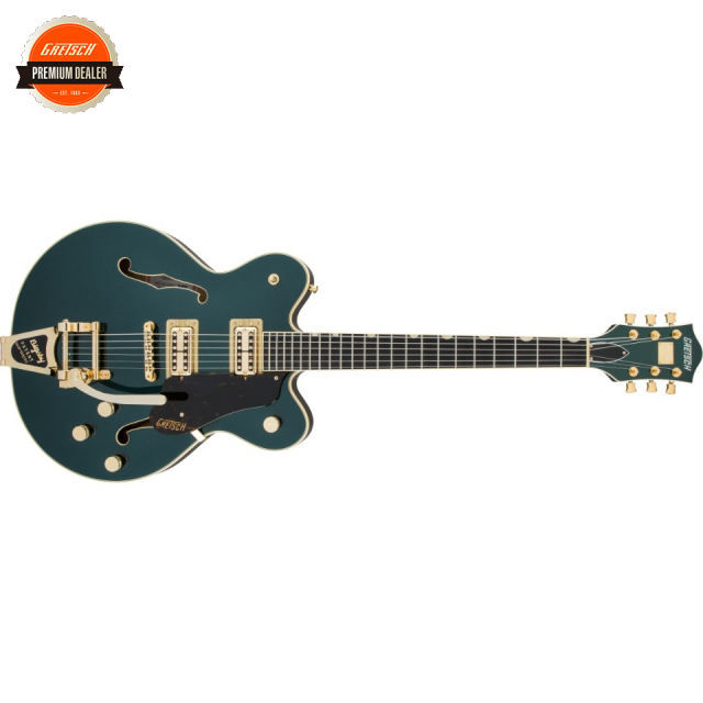 Gretsch/G6609TG Players Edition Broadkaster Center Block Double-Cut with String-Thru Bigsby and Gold Hardware Cadillac Green【受注生産】