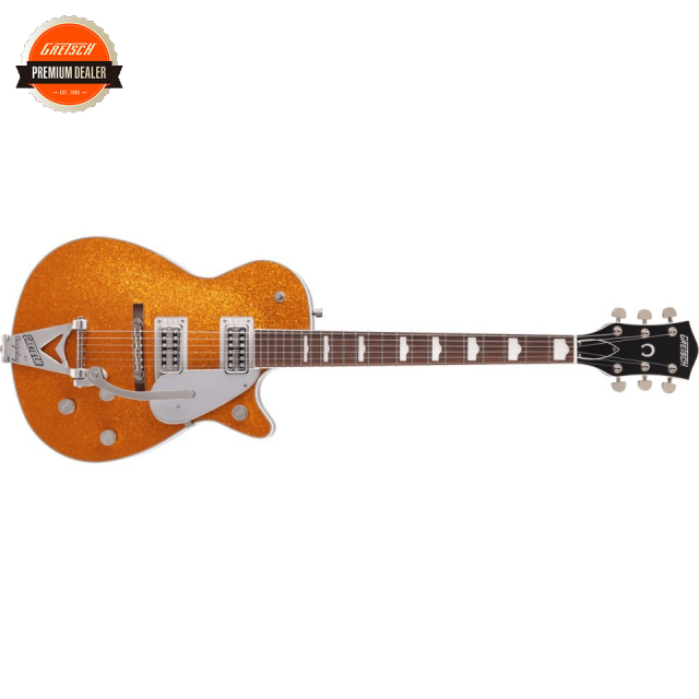 Gretsch/G6129T-89 Vintage Select '89 Sparkle Jet with Bigsby Gold Sparkle【受注生産】