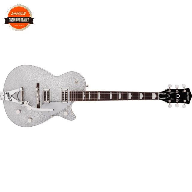 Gretsch/G6129T-89 Vintage Select '89 Sparkle Jet with Bigsby Silver Sparkle【お取寄商品】【グレッチ】