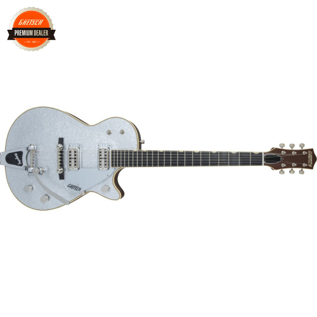 Gretsch/G6129T-59 Vintage Select '59 Silver Jet with Bigsby Silver Sparkle【受注生産】