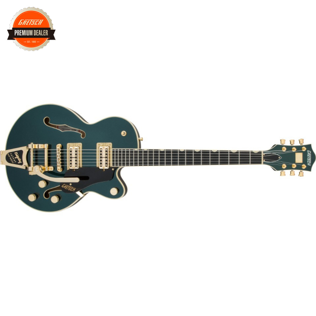 Gretsch/G6659TG Players Edition Broadkaster Jr. Center Block Single-Cut with String-Thru Bigsby and Gold Hardware Cadillac Green【受注生産】
