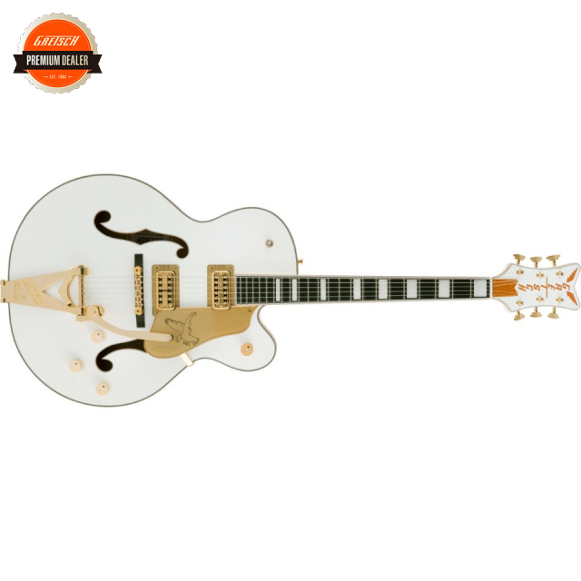 Gretsch/G6136T-MGC Michael Guy Chislett Signature Falcon with Bigsby Vintage White【受注生産】