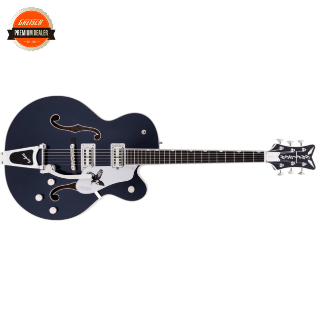 Gretsch/G6136T-RR Rich Robinson Signature Magpie with Bigsby Raven's Breast Blue 【お取寄商品】【グレッチ】