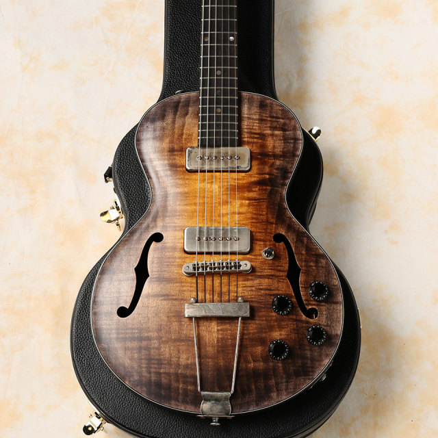 Wide Sky Guitars/P125 Non Cutaway P-90