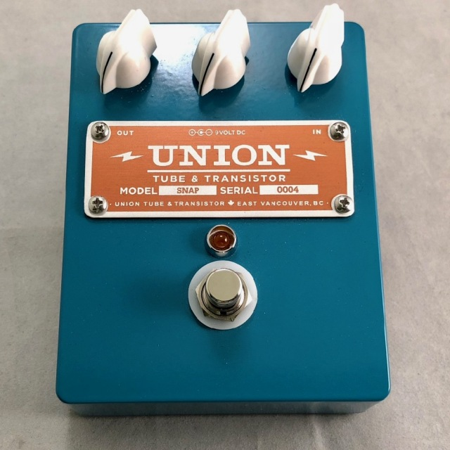 UNION TUBE&TRANSISTOR/SNAP【お取り寄せ商品】