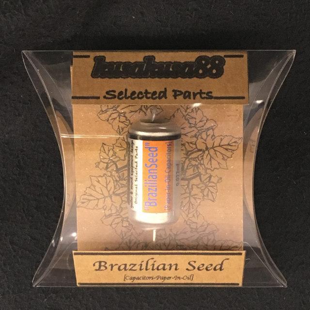 KusaKusa88/Paper In Oil Cap / Brazilian Seed 0.022μF 400V【コンデンサー】