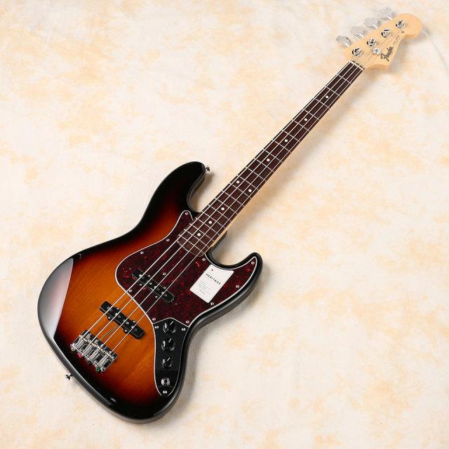 Fender/Made in Japan Heritage 60s Jazz Bass Rosewood Fingerboard ( 3-Color Sunburst )