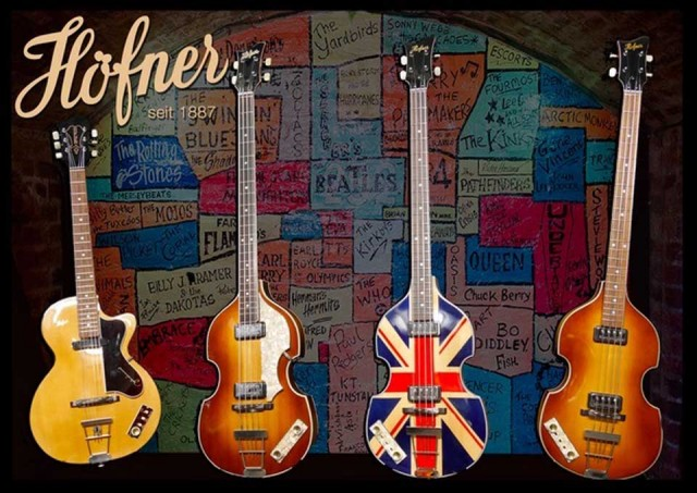 Hofner/Cavern Club Fridge Magnet【在庫あり】