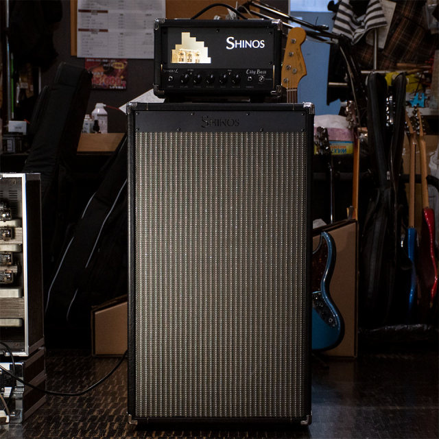 SHINOS&L City Bass Head Cabinet Speaker 212 set 【ご予約受付中 8月下旬入荷予定】