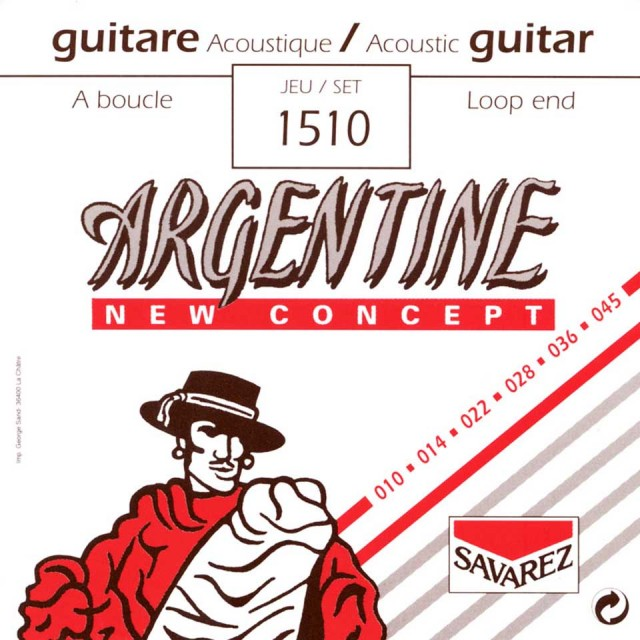 SAVAREZ/Argentine 1510 XL【マカフェリ】【ループエンド】【在庫あり】