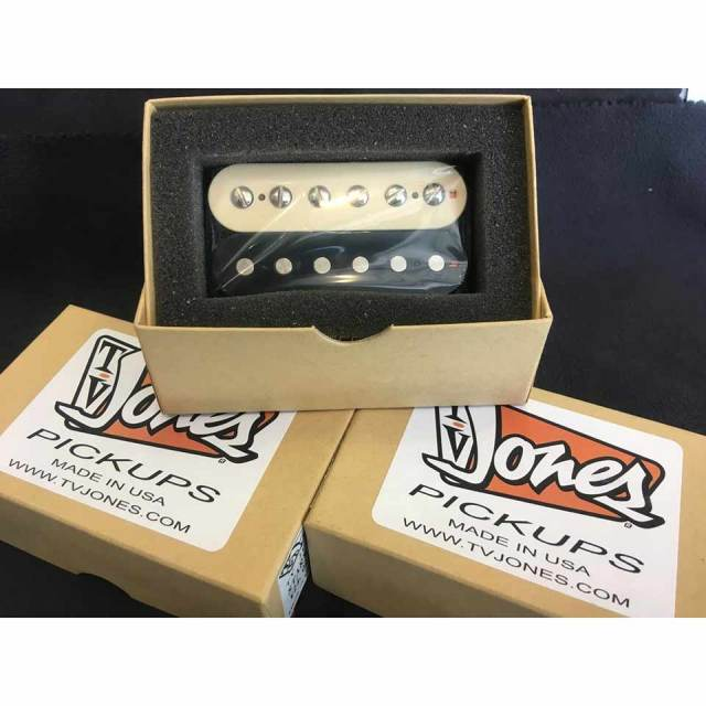 TV JONES/Starwood Humbucker Pickups Bridge Zebra【ハムバッカー】【お取り寄せ商品】