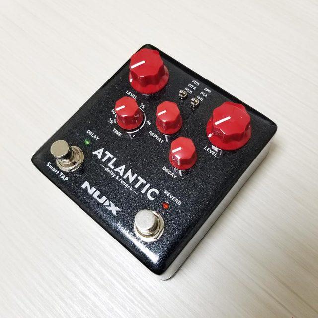 NUX/Atlantic【Delay&Reverb】