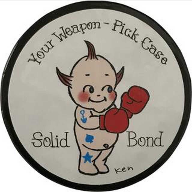 Solid Bond/Ken Yokoyama Design Pick Case / PICK-CASE-KY【在庫あり】