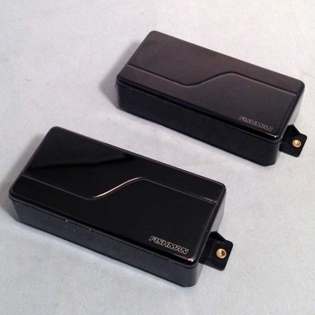 FISHMAN/Fluence Modern Humbucker SET 7Strings (Shine Black Cover)【フィッシュマン】【アクティブ】【7弦用】【PRF-MH7-SK2】【予約受付中】