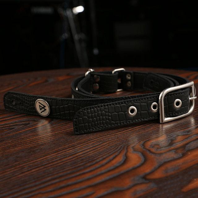 LAMANTA/Narrow Road Black Leather & Silver Parts LM76NC【在庫あり】【現物画像】