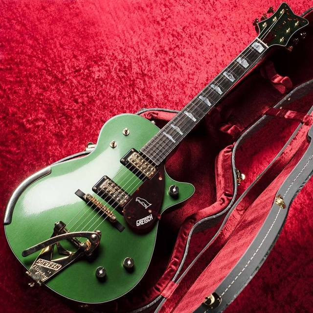 Gretsch/Custom Shop 59 Cadillac Green Penguin w/Tortoise Shell Closet Classic bound Built
