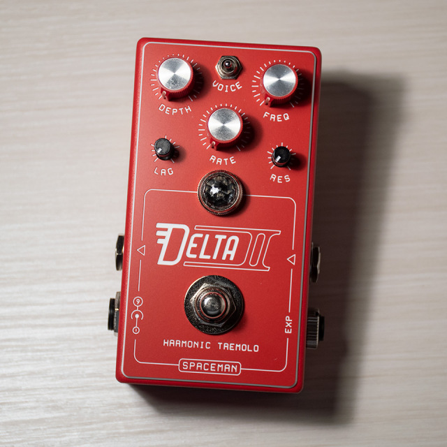 Spaceman Effects/Delta II Red【在庫あり】
