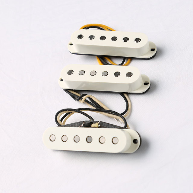 LOLLAR PICKUPS/Vintage Blonde / SET / Parchment Cover 【在庫あり】【ローラー】【ストラト】