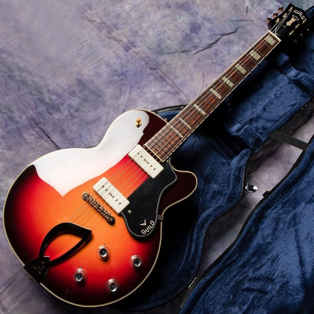 GUILD/M-75 Aristocrat (Antique Burst)