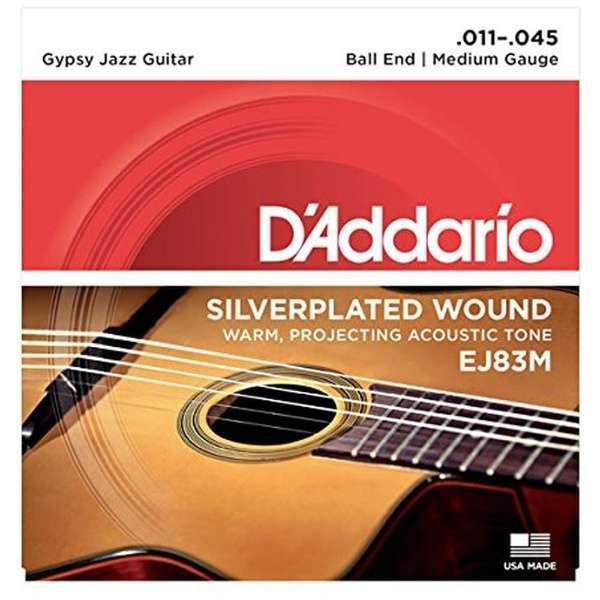 D'Addario/EJ 83M 【マカフェリ】【ボールエンド】【在庫あり】