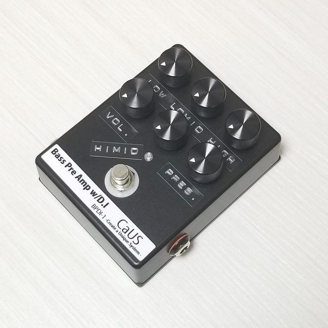CaUS/BASS PRE AMP w/DI OUT【在庫あり】