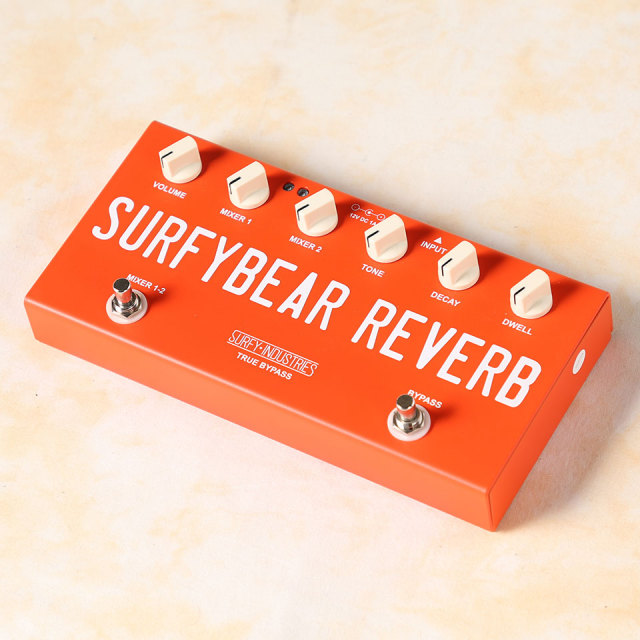 Surfy Industries/SURFYBEAR COMPACT REVERB UNIT RED