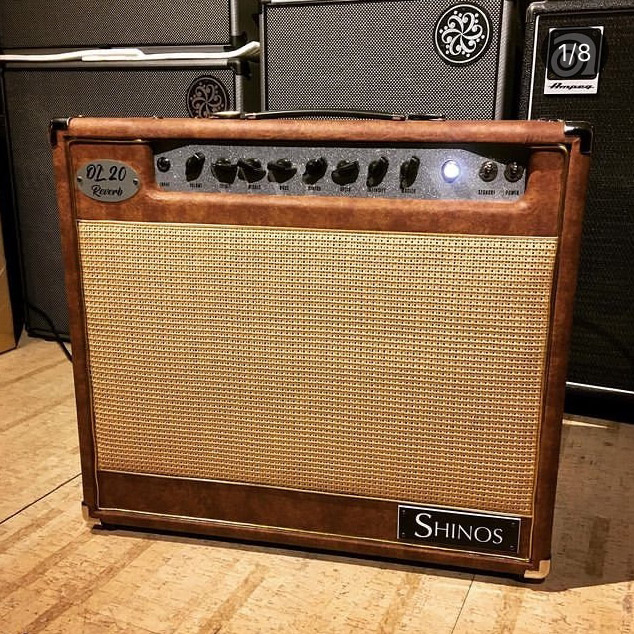 SHINOS/OL'20 Reverb Limited (Gold Piping / Shinos Sahashi Model Brown) #002