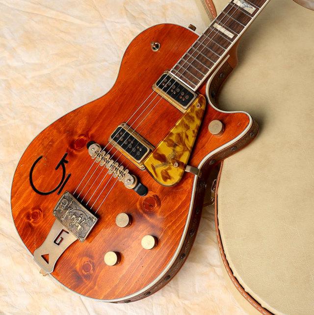 "Gretsch/USA Custom Shop G6130 CS 1955 Roundup ""4 Knotty Pine"" Relic (built by Stephen Stern)"