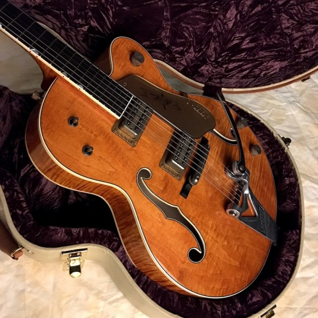 "Gretsch/USA Custom Shop G6120TCS Chet Atkins 1959 ""Curly Flame"" Relic (Built by Stephen Stern)"