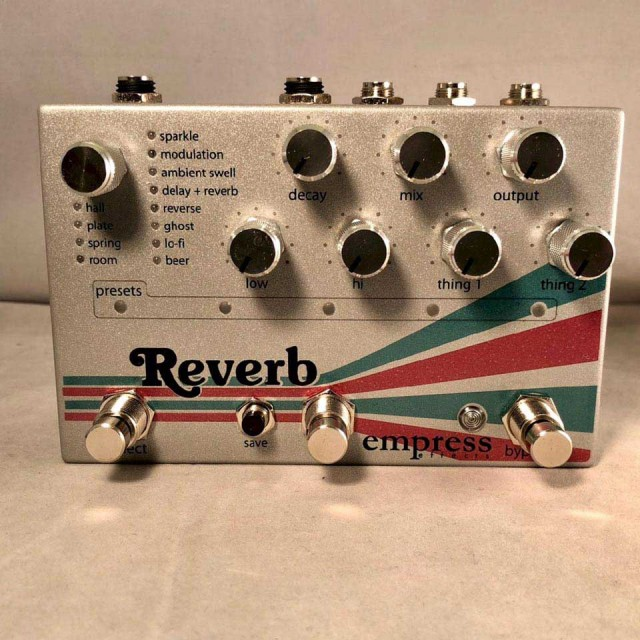 Empress Effects/Reverb【在庫あり】