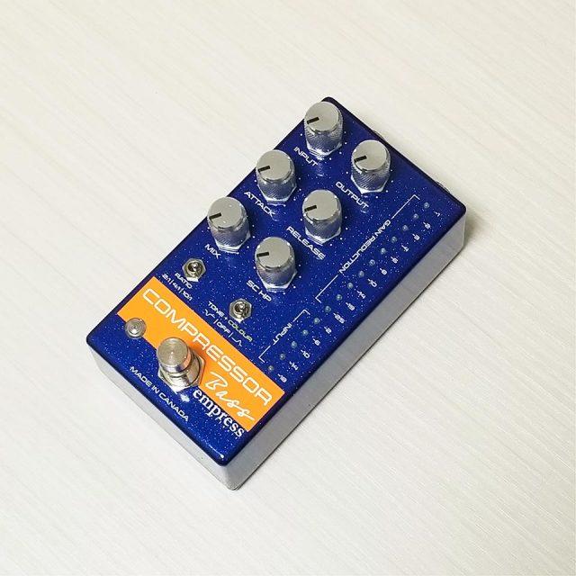 Empress Effects/Bass Compressor Blue【お取り寄せ商品】