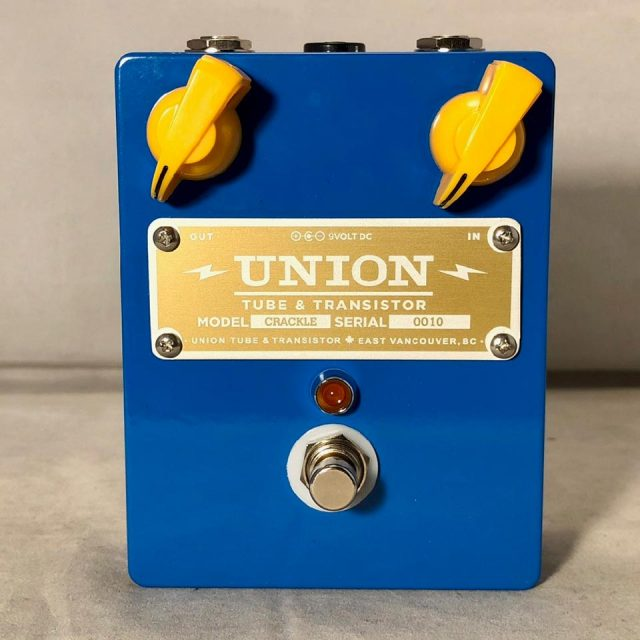 UNION TUBE&TRANSISTOR/CRACKLE【再入荷!】【在庫あり】