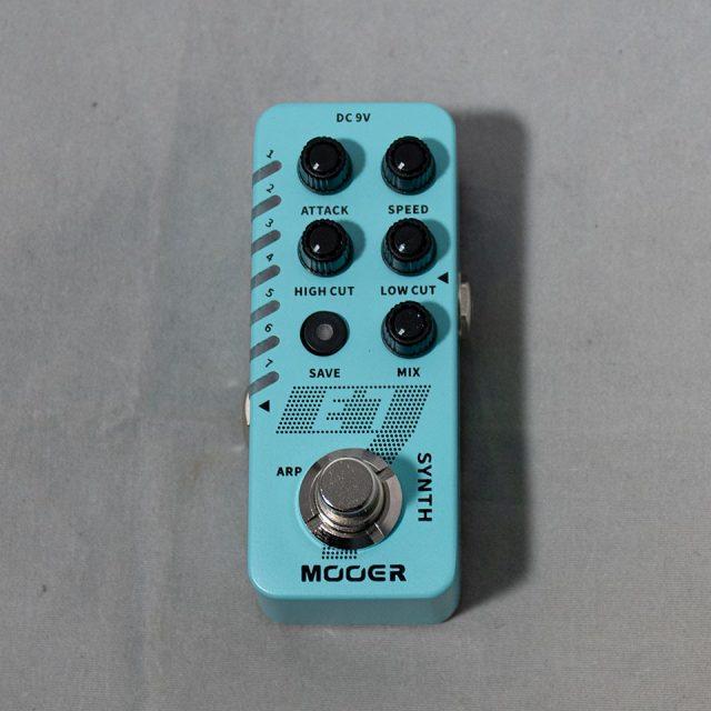 Mooer/E7【ポリフォニック ギターシンセ】【在庫あり】