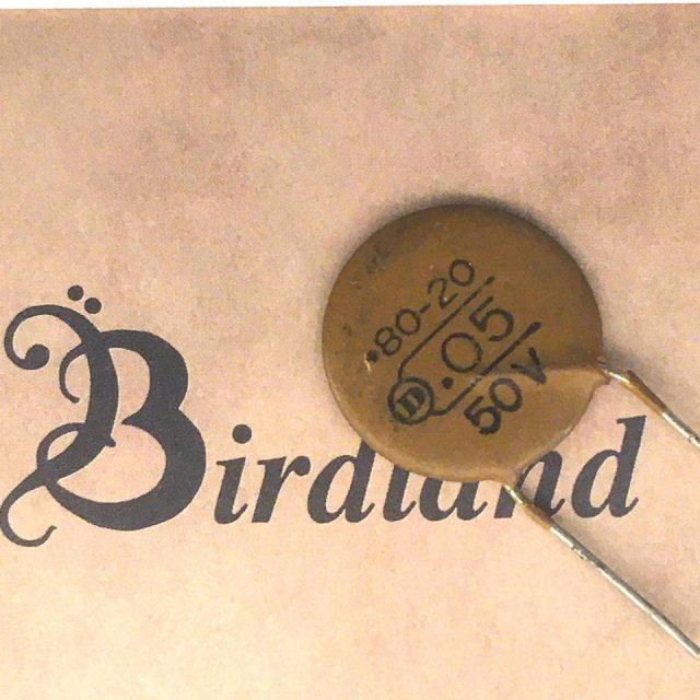 Birdland/Dilectron 50V 0.05μF フォーミングリード【コンデンサー】【在庫あり】