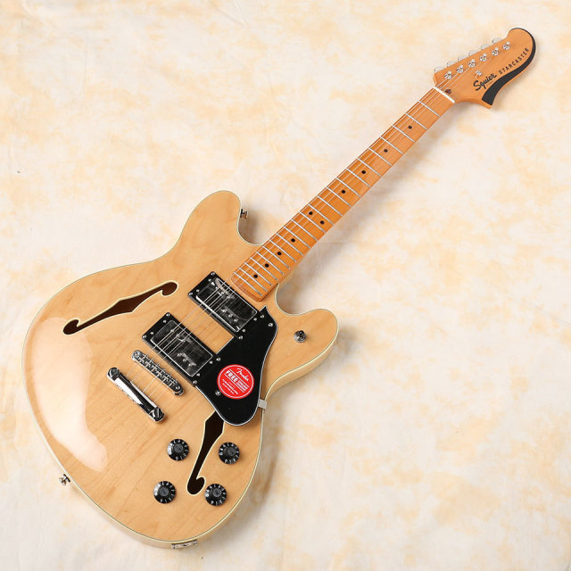 Squier by Fender/Classic Vibe Starcaster (Natural)