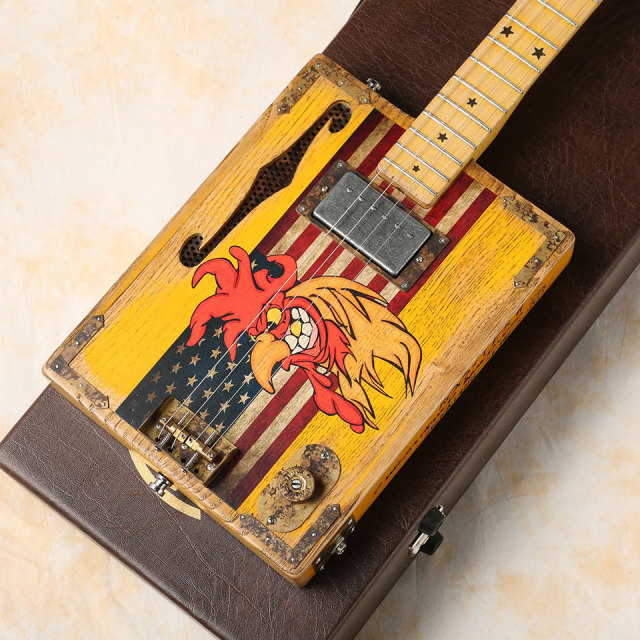 Paoletti Guitars/Rooster II 4 String Guitar Box