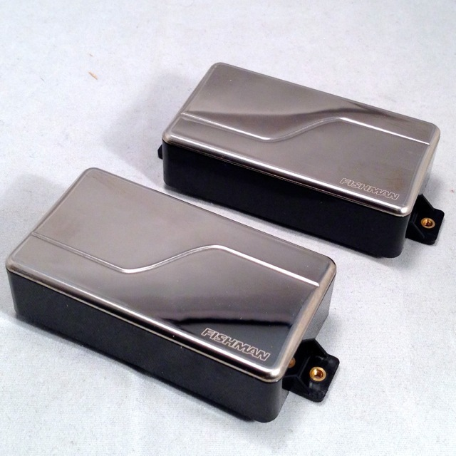 FISHMAN/Fluence Modern Humbucker 6st SET (Nicke Cover)【PRF-MHB-SN2】【耳あり】【お取り寄せ商品】
