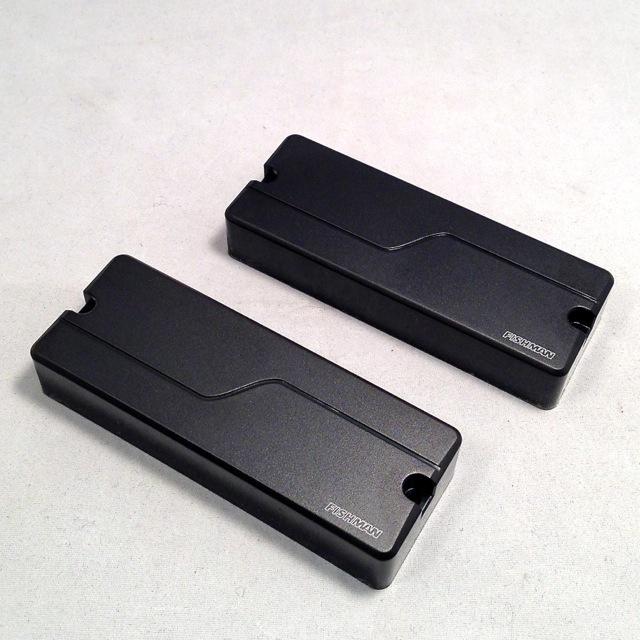 FISHMAN/Fluence Modern Humbucker 8st Set (Black Cover)【PRF-MH8-SB2】【在庫あり】