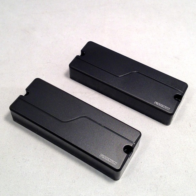 FISHMAN/Fluence Modern Humbucker 8st Set (Black Cover)【PRF-MH8-SB2】【在庫あり】