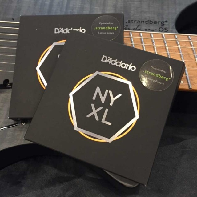D'Addario/NYXL 0984SB for strandberg [Custom 8-Strings]【ストランドバーグ8弦専用】【在庫あり】