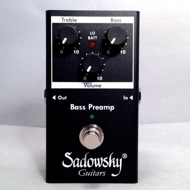 Sadowsky/SBP-2【サドウスキー】【プリアンプ】【在庫あり】