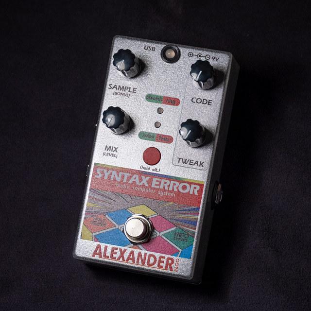 Alexander/Syntax Error【在庫あり】【送料無料】