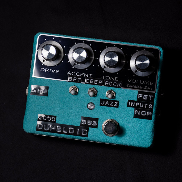 Shin's Music/DUMBLOID 2000 SSS Limited Emerald Suede【限定100台生産】