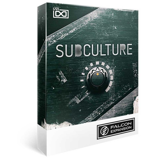 UVI/SubCulture for Falcon【FALCON専用拡張パック】【オンライン納品】