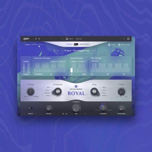 UJAM/VIRTUAL BASSIST - ROYAL 2【オンライン納品】【在庫あり】