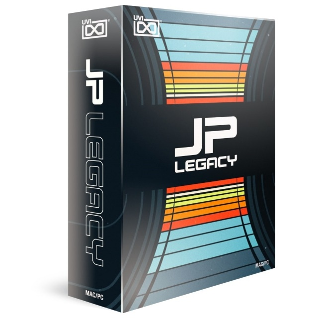UVI/JP Legacy【~12/3 期間限定特価キャンペーン】【オンライン納品】